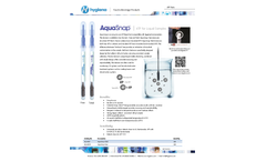 Hygiena AquaSnap Total - Model AQ-100X - Sampling System for Bio-reveal - Brochure