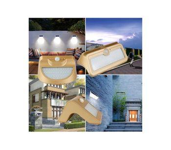 Ranpo - Model 7W - Waterproof Solar Power LED