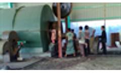 Bangladesh  waste tyre/plastic pyrolysis plant