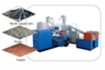 Copper wire recycling machine  running video