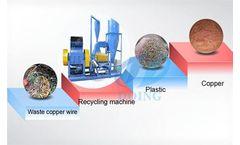 DY - Model DY 100KG 200KG 500KG  - Scrap copper cable recycling machine