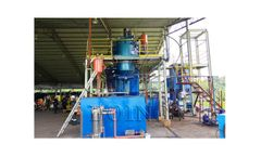 Waste Tyre/Plastic Pyrolysis Oil Distillation Plant
