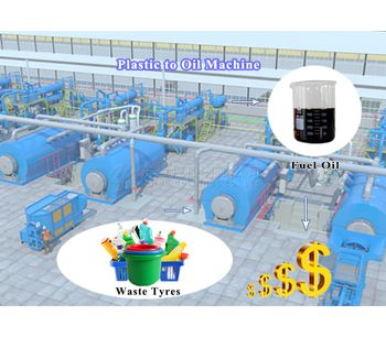 Henan Doing - Extract fuel oil from plastic and plastic fuel oil application