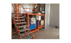 UMB - Model ARI-550 Series - Medical Waste Treatment Machines / Medical Waste Pre-shredder / Medical Waste Pressurized Steam Sterilization