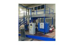 UMB - Model ARI-1100 Series - Medical Waste Treatment Machines / Medical Waste Pre-shredder / Medical Waste Pressurized Steam Sterilization