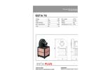 ESTA - Model 70 - Stationary Dust Extractors - Data Sheet
