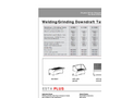 ESTA - Welding/Grinding Downdraft Tables - Brochure