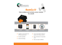 RemCo - Model II - Online Data Analysis Module Brochure