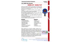 Tecora - Model S500L-IR / S500LT-IR - Autonomus Combustible Gas Detector Brochure