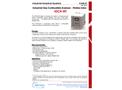 Tecora - Model IGCA - Industrial Gas Combustible Analyzer Brochure