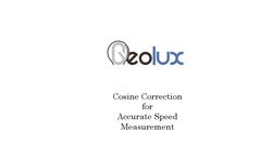 Geolux - Model RSS-2-300 T - Traffic Radar Brochure