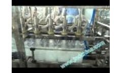 5L water filling machine 8 8 1 linear type Video