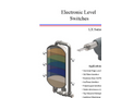 Ameritrol - Model LM Series - Level Switches Brochure