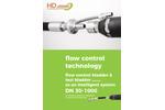 Model HD - Test and Flow Control Bladder - Datasheet