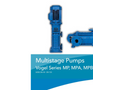 Multistage Pumps Vogel Series MP, MPA, MPB, MPV