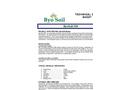 ByoSoil ByoHumic Technical Data Sheet