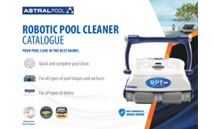 AstralPool - Model RPT Plus - Robot Pool Cleaner with Remote Control Brochure