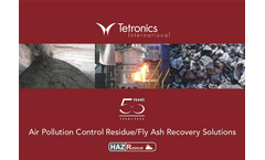 Air Pollution Control Residue/Fly Ash Recovery Solutions - Brochure