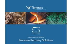 Tetronics Resource Recovery Brochure