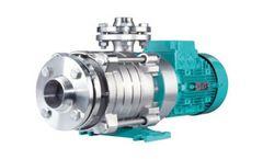 EDUR - Model LBU VBU NHP Z - Multistage Horizontal and Vertical High Pressure Pumps