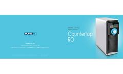 Pureteck - Model CTRO-301 Series - Countertop RO System Brochure