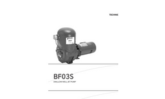 Model BF03S - Shallow Well Jet Pump- Brochure