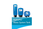 HydroPro - Model V6P-V350 & T Series - Diaphragm Tanks Brochure
