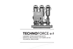 TechnoForce e-HV Variable Speed Boosters with Vertical Multistage e-SV Pumps 60 HZ - Brochure