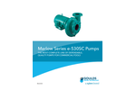 Marlow - Model e-530SC Series - Swimming Pool Pumps Brochure