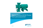 Marlow - Model e-531SC Series - Swimming Pool Pumps Brochure