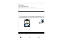 AquaPhoenix - Low Level Ammonia Nitrogen Test Kits Brochure
