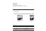 AquaPhoenix - Model TK8000-Z - Acid Sanitizer Test Kits Brochure