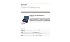 AquaPhoenix - Model BWTK100 - Boiler Water Combination Test Kit Brochure