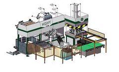 HGHY - Model JZC2-9895D - Auto Robot Arm Tableware Smart Machine