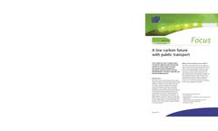 Focus Paper: A Low Carbon Future With Public Transport (PDF 400 KB)