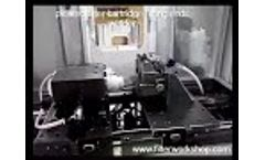 Pleated filter cartridge welders/production line/making machines/equipments Video