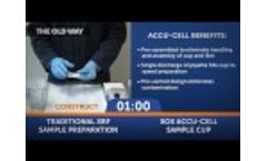 Standard XRF Sample Cups vs. Accu-Cell Video