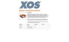 Petra MAX - Model D4294 - Sulfur Analysis System - Datasheet