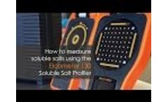 How to Measure Soluble Salts using the Elcometer 130 Soluble Salt Profiler Video