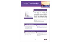 Bag-Flow - Model F Series - Filter Bags Brochure