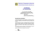 ETI - Model 174-166 - Colour Coded Penetration Probe Brochure