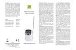 ETI - Model 810-961 - Multi-Function - Digital Catering Thermometer Brochure