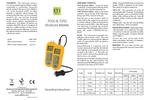 ETI - Model 7000 - General Purpose Moisture Damp Meter- Brochure