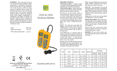 ETI - Model 7000 - General Purpose Moisture Damp Meter- Brochure