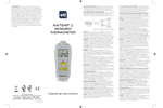 RayTemp - Model 2 - 228-020 - High Accuracy Infrared Thermometer Brochure