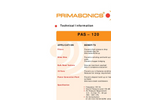 PRIMA - Model PAS 120 - Mid-Size Acoustic Cleaner Brochure