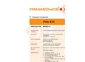 PRIMA - Model PAS 420 - Acoustic Cleaner- Brochure