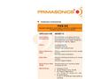 PRIMA - Model PAS 60 - Audiosonic Acoustic Cleaner Brochure