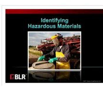 Coggno - Identifying Hazardous Materials Course