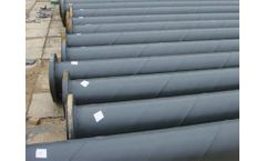 Model UHMWPE - Steel Composite Pipe